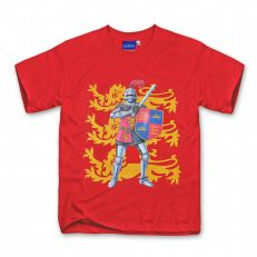 Nick the Knight red lion t-shirt