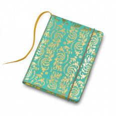 Palace china pocket notebook with turquoise pencil