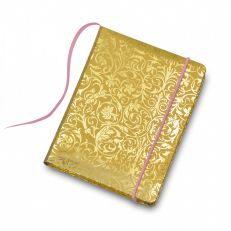 Royal palace rose pocket notebook with turquoise pencil