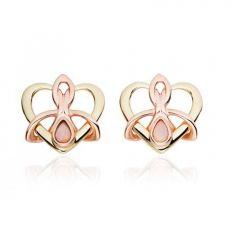 Dwynwen opal stud earrings