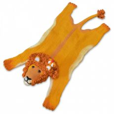 Royal lion felt rug