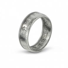 1957 Shilling coin ring