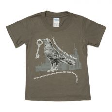 Tower of London kids raven T-shirt
