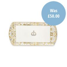 Royal Victoria bone china sandwich tray