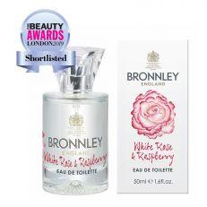 Bronnley White Rose and Raspberry eau de toilette