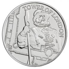 The Royal Mint Tower of London 'The Yeoman Warders' UK £5 brilliant uncirculated coin