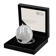 The Royal Mint Tower of London 'The Yeoman Warders' UK £5 Silver Proof coin