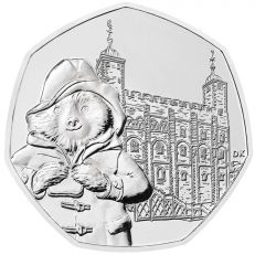 Paddington at the Tower of London Brilliant Uncirculated 50p Coin