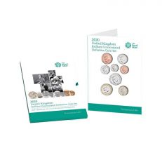 The Royal Mint United Kingdom brilliant uncirculated definitive coin set 2020