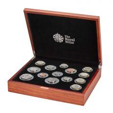 The Royal Mint United Kingdom commemorative premium proof coin set 2020