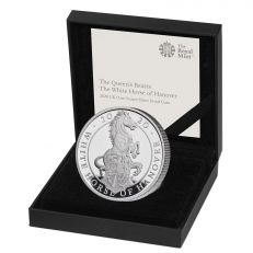 The Royal Mint Queen's Beasts The White Horse of Hanover 2020 UK £2 Silver Proof coin