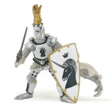 Papo UK White unicorn knight model toy