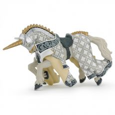 Papo UK White unicorn horse model toy