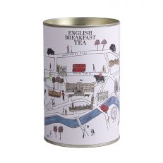 London map illustration English Breakfast tea