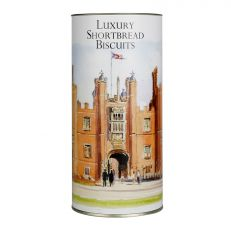 Hampton Court Palace watercolour shortbread biscuits drum