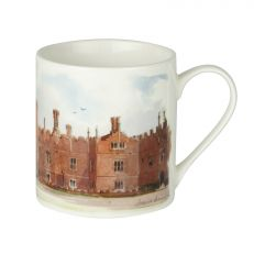 Hampton Court Palace watercolour bone china mug
