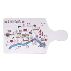 Map of London chopping board