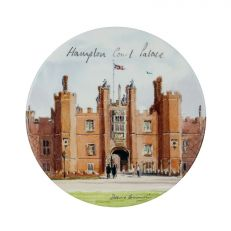 Hampton Court Palace watercolour ceramic coaster