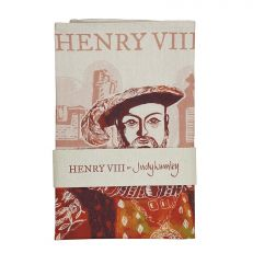 Illustrated Henry VIII at Hampton Court Palace Tea Towel