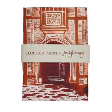 Illustrated Hampton Court Palace tea towel