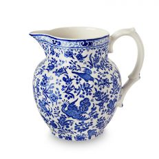 REGAL PEACOCK ETRUSCAN JUG SMALL