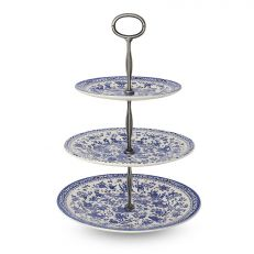 REGAL PEACOCK 3 TIER CAKE STAND
