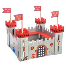 Children's wooden my first castle play set