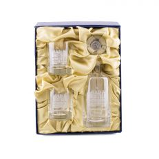 Hampton Court Palace Engraved Crystal Decanter Set