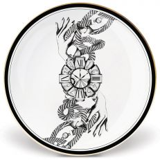 Lauren Dickenson The divineness of time fine bone china side plate