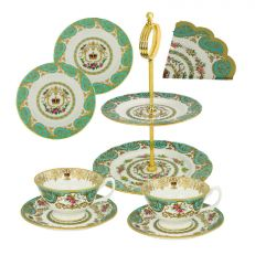 Luxury fine bone china afternoon tea set for two - Made in England for Historic Royal Palaces