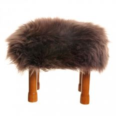 Baa stool luxurious real sheepskin footstools