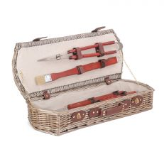BBQ essential tools willow basket set