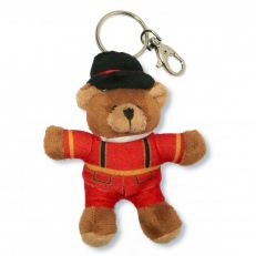 Tower of London beefeater plush keyring bag charm