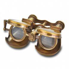 Folding binoculars