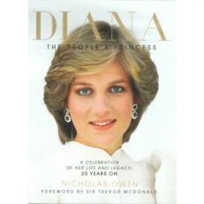 Diana : The People's Princess hardback commemorative book
