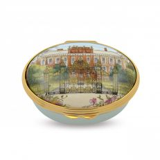 Halcyon Days Kensington Palace enamel box
