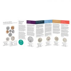The Royal Mint United Kingdom brilliant uncirculated annual coin set 2019