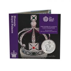 The Royal Mint Tower of London 'The Crown Jewels' UK £5 Brilliant Uncirculated Coin
