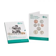 The Royal Mint United Kingdom brilliant uncirculated definitive coin set 2019