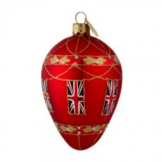 Brink Union Jack glass bauble