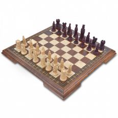 Mini medieval chess set