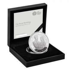Royal Wedding 2018 Harry & Meghan Royal Mint Commemorative £5 Silver Proof coin