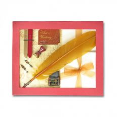 Feather quill gift set