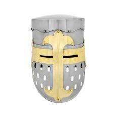 Medieval armour - Crusader Transitional Helmet