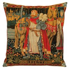 Flemish Tapestries King Arthur tapestry cushion