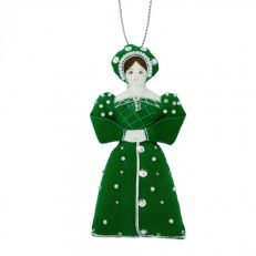 St Nicolas Henry's wives tree decorations - Anne Boleyn
