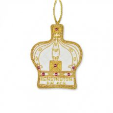 St Nicolas Kensington Palace crown tree decoration