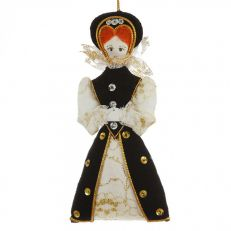 St Nicolas Elizabeth I tree decoration
