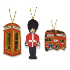 St Nicolas London icons tree decorations