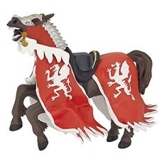 Papo UK Red dragon horse model toy
